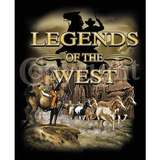 T-paita Legends of the West