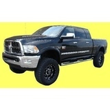 Lokasuojan levikesarja Dodge Ram 2500 / 3500 2009+ *BOLT ON STYLE