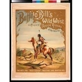 "Buffalo Bill- juliste ""red cloud"""