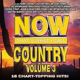 CD-levy: Now Country vol.3 - That´s What I Call