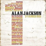 CD-levy: Alan Jackson - 34 Number Ones (2 CD)