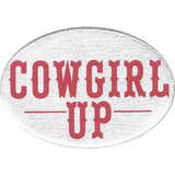 Hitch Cover Cowgirl Up