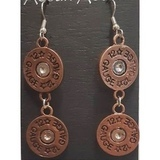 Shotgun Shell Copper - korvakorut