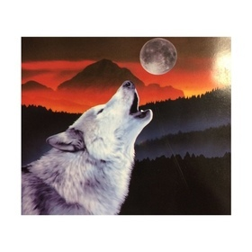 Wolf - Wolf Howling at Moon