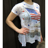 Tunika USA-flag by Cactus Fashion