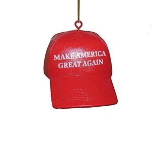 "Joulukuusen koriste - ""Make America Great Again"