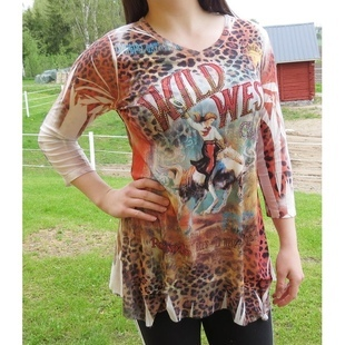 Tunika - Wild West Leopard by Cactus Fashion